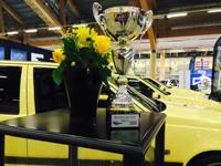 Svenska T-Gul Klubben wins prize in Jönköping SE